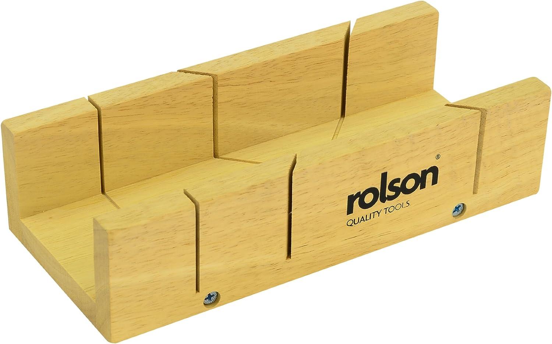 Rolson 56429 - Caja de ingletes (tamaño: 230mm): Amazon.es ...
