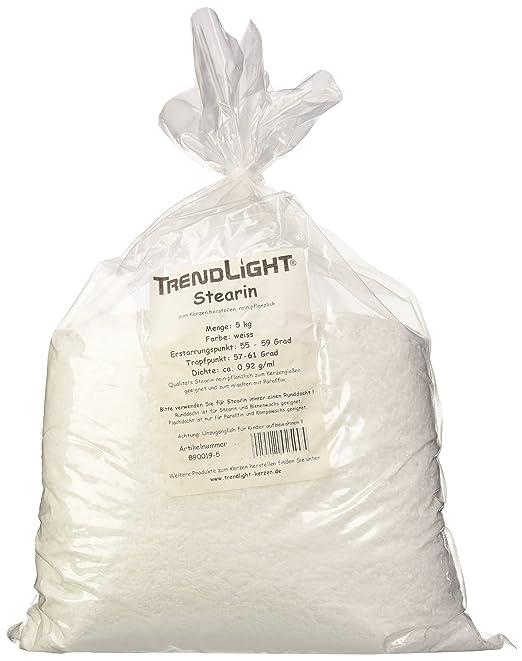per fare candele TrendLight /® 890019-5 Cera 5 kg