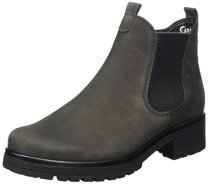Gabor Shoes Damen Comfort Sport Stiefel, Grau (Vulcano Micro), 41 EU