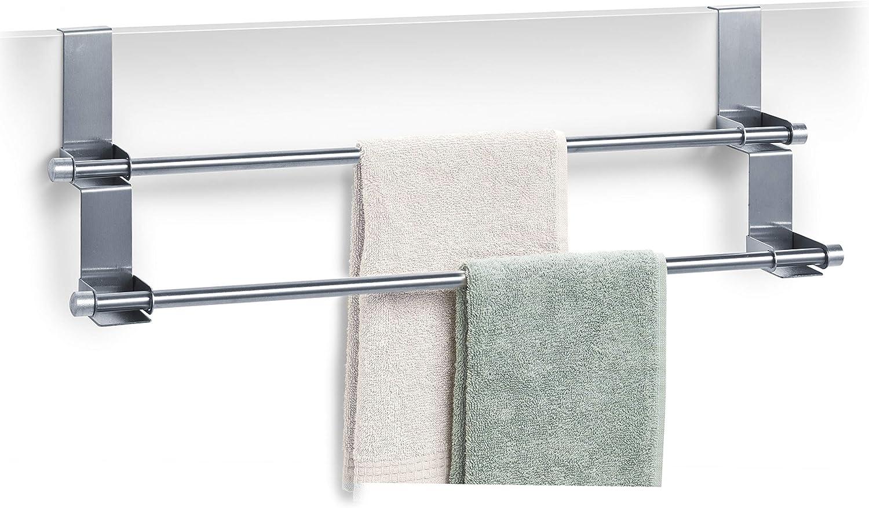 8 Gr/ö/ßen Single Turmst/änder-HOHE Handtuchstange Bad Handtuchhalter Moderner Wand-Messing-Chrom