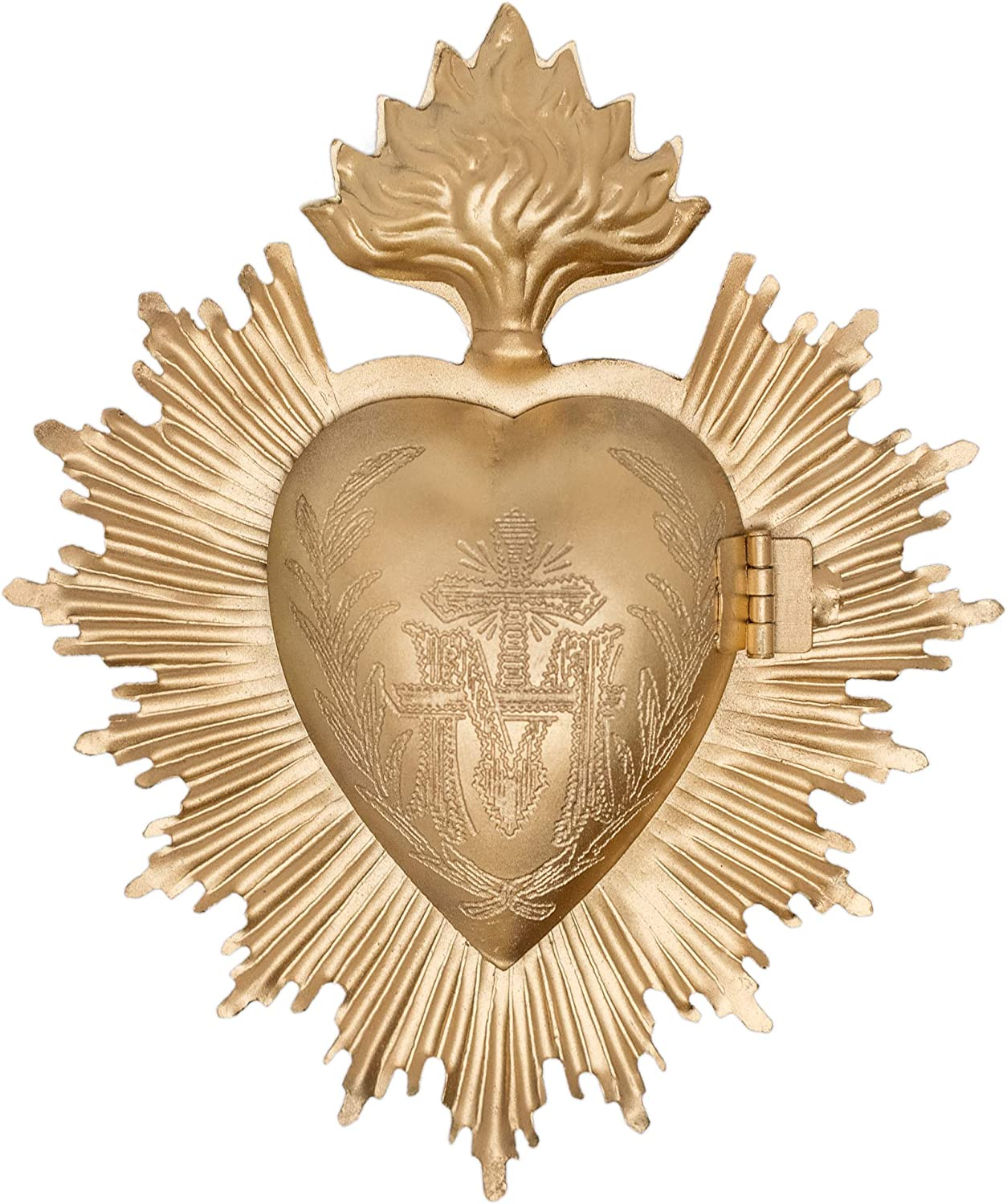 Sacred milagro heart box by Queen of Crowns