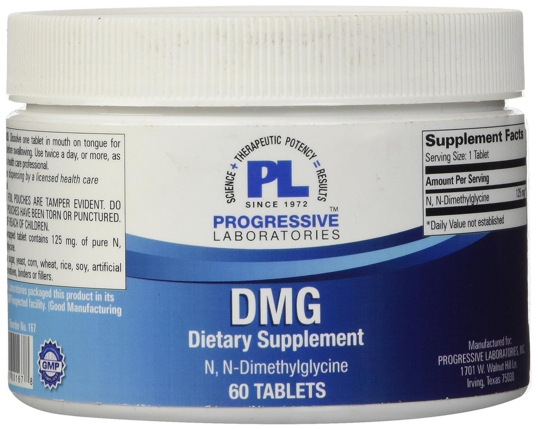 Progressive Labs DMG Supplement, 60 Count