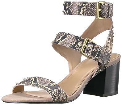 fcff747b69e1 Amazon.com  The Fix Women s Bond Studded Block Heel Dress Sandal  Shoes