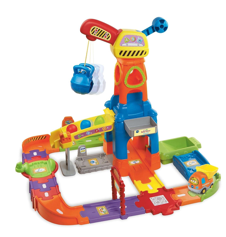 Baustelle zeichnung  VTech 80-146604 - Tut Tut Baby Flitzer - Baustelle: Amazon.de ...