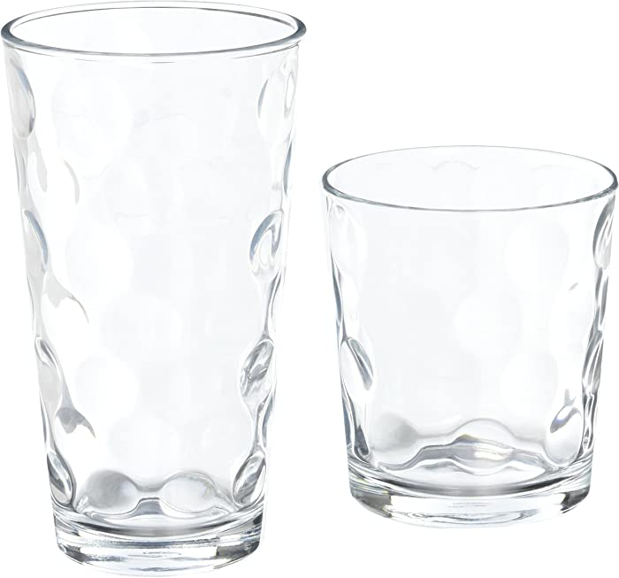 Home Essentials Eclipse 16pc Drinkware Set