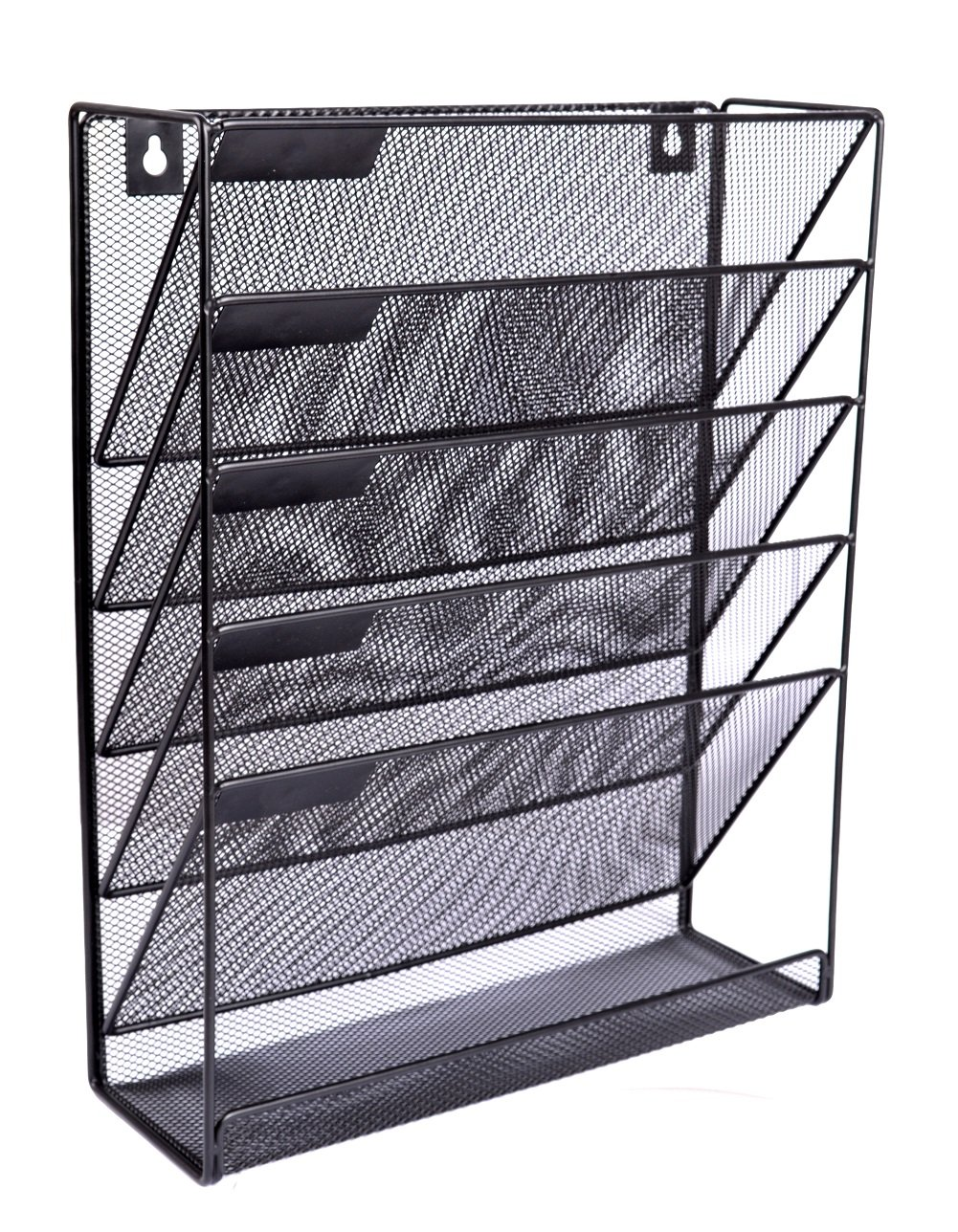 6 Tier Wall Mount Document Letter Tray Organizer by top&top (Image #1)
