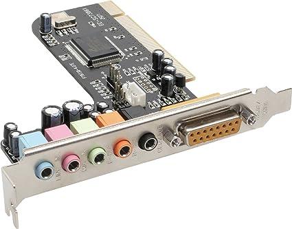 InLine 66670A Tarjeta de Audio - Tarjeta de Sonido (32 bit ...