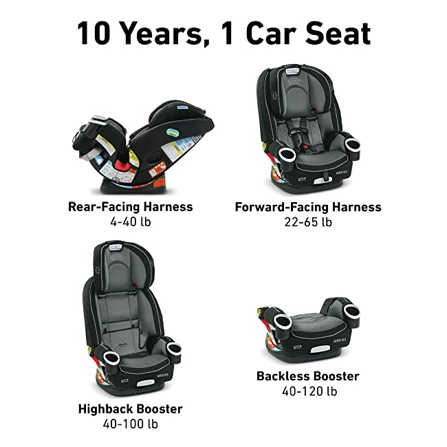 Best car seats-Graco 4ever 4-in-1 Convertible Car Seat