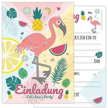 6 unidades Tarjetas Juego Flamingo con una Flamingo y ...