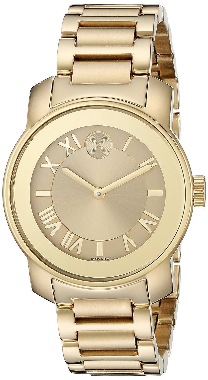 Amazon.com: Movado Womens 3600323 Analog Display Swiss Quartz Gold Watch: Watches