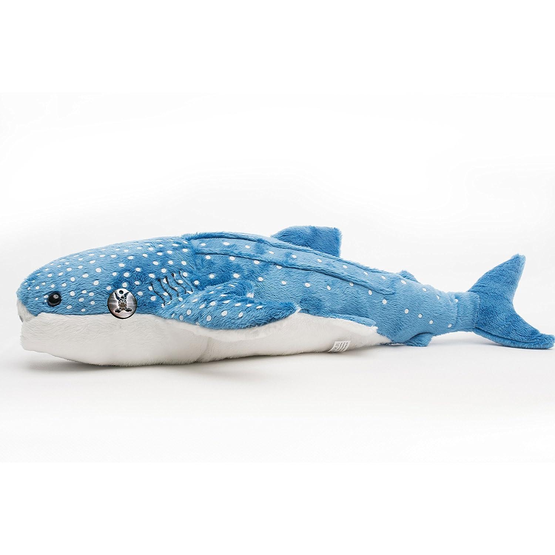 XXL Whale shark DHARA Riesenhai Rhincodon Ammenhai 54 cm Plush toy by Kuscheltiere.biz