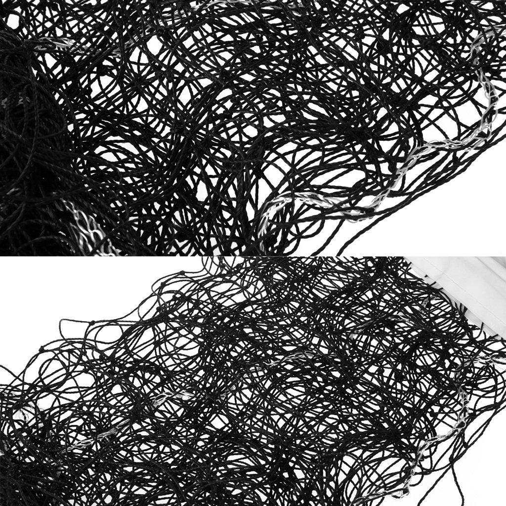 Longsw Universal Style 9.5x1m Volleyball Net Polyethylene Material Beach Volleyball Net