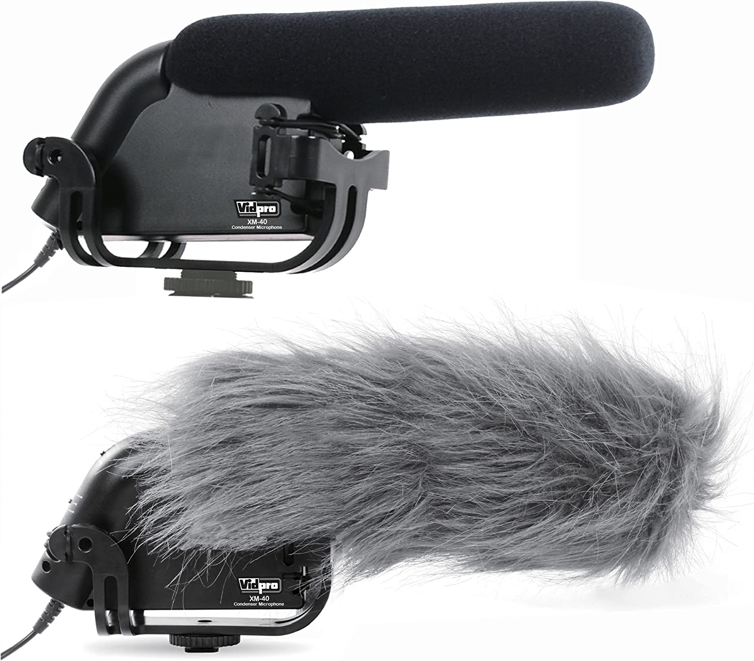 Nikon D610 Digital Camera External Microphone XM-40 Professional Video /& Broadcast Condenser Microphone