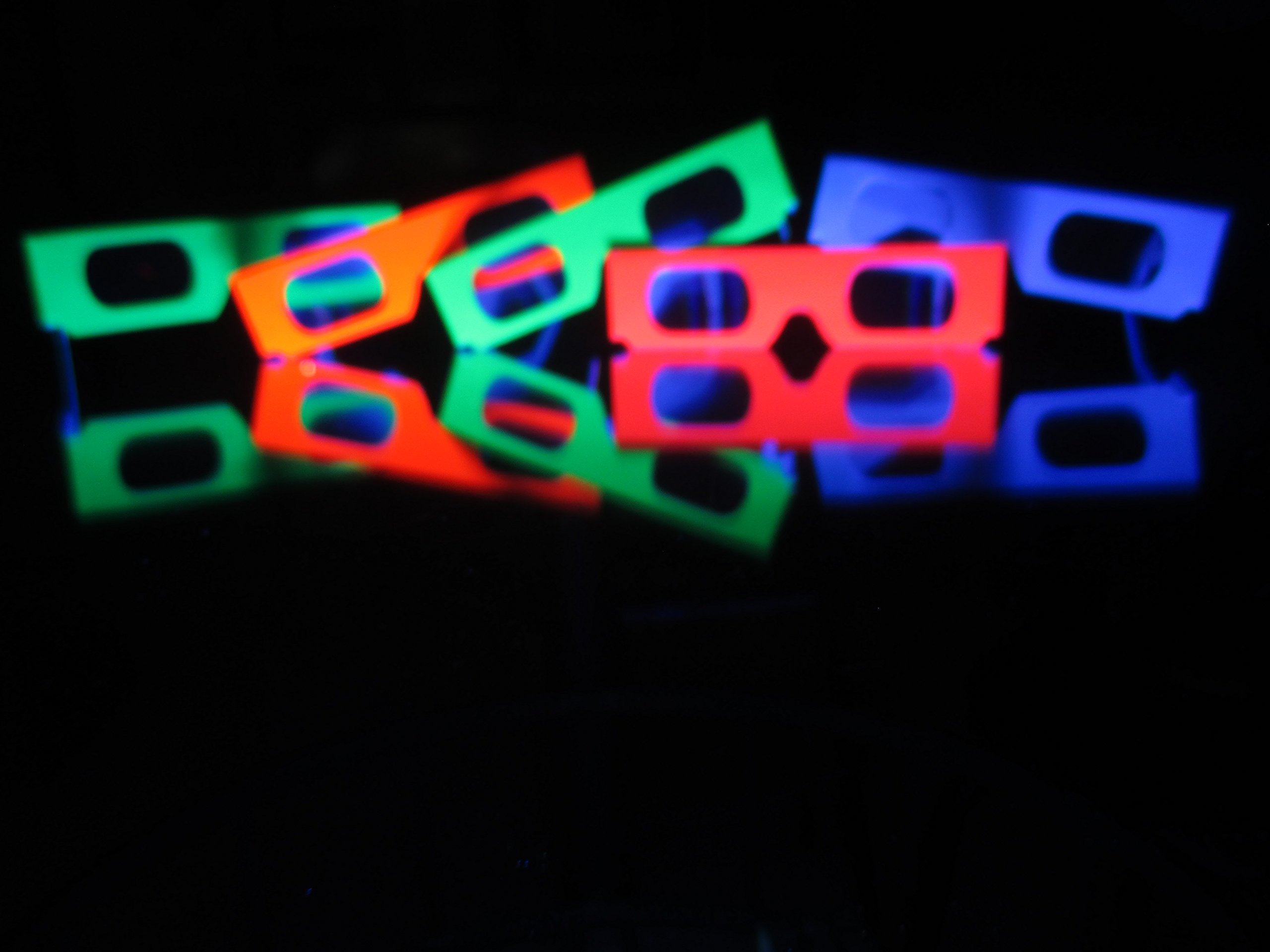 Fireworks Glasses - 200 Pair - For Laser Shows, Raves, Holiday Lights by 3DHeaven (Image #4)
