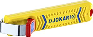 JOKARI T10270 10160/270/1 Cable Knife 27, Yellow, 8-28 mm