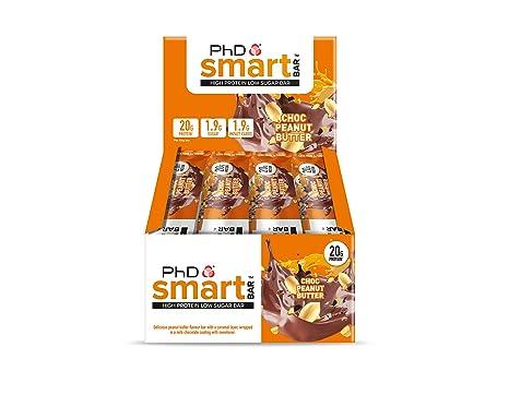 89561d764a3670 PhD Smart Bar-High Protein Low Sugar Bar