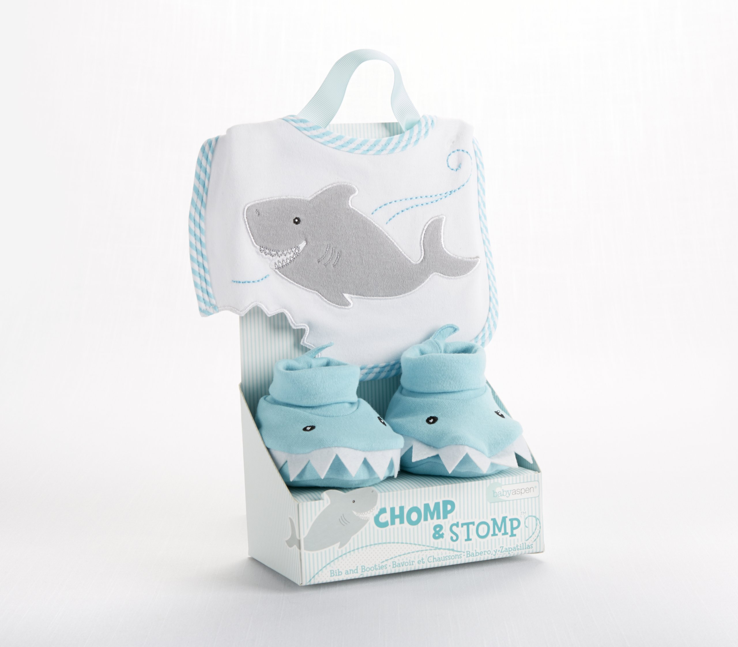 Baby Gift Sets South Africa : Bibs burp cloths baby aspen bib and booties gift set