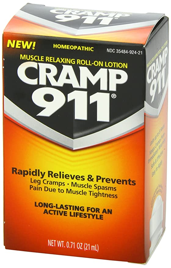 Cramp 911 muscle relaxing roll on lotion - 0.71 oz (21 ml) by DEL COREAN LLC: Amazon.es: Salud y cuidado personal