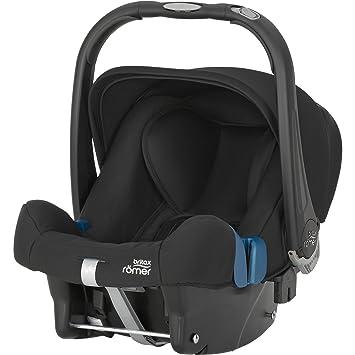 Römer Baby-Safe Plus SHR II, Silla de coche grupo 0+, negro ...