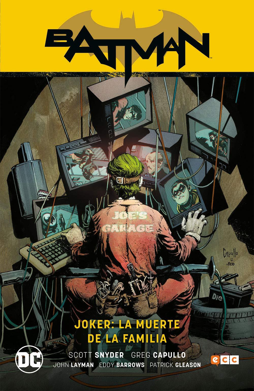 Joker: La muerte de la familia: Amazon.es: Felip Tobar ...