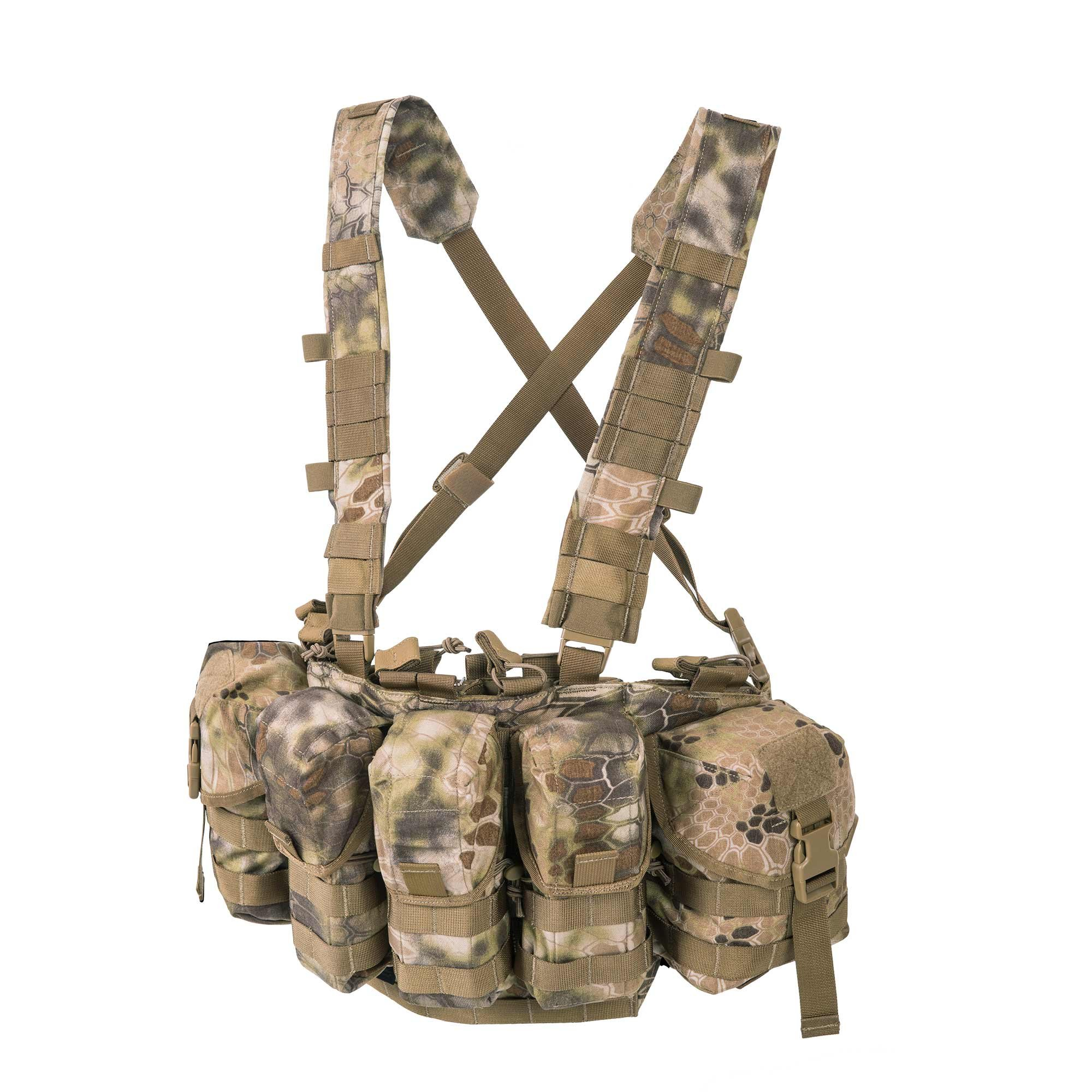 Helikon-Tex Patrol Line, Guardian Chest Rig Kryptek Highlander by Helikon-Tex
