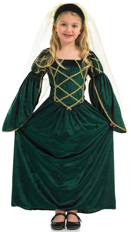 Fun Shack Child Fancy Dress Green Tudor Dress Girl Costume Small Funshack Amazon.co.uk Toys u0026 Games  sc 1 st  Amazon UK & Fun Shack Child Fancy Dress Green Tudor Dress Girl Costume Small ...
