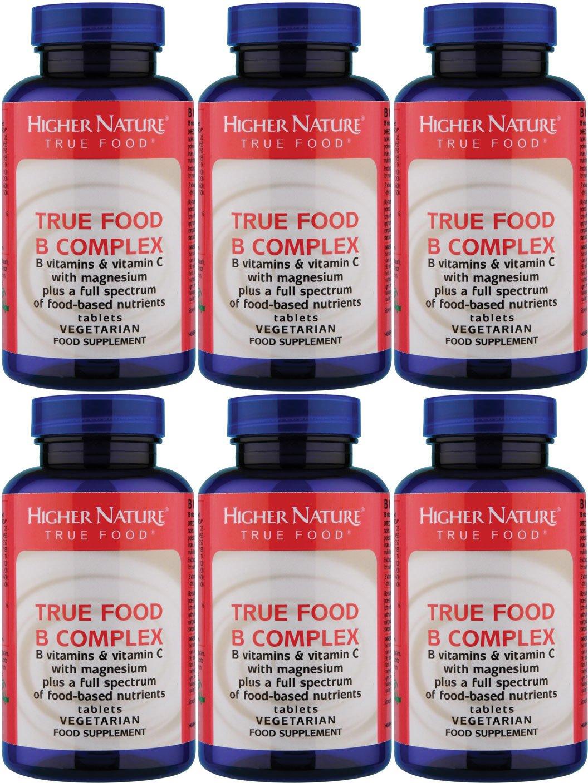 (6 PACK) - Higher Nature - True Food B Complex | 90's | 6 PACK BUNDLE