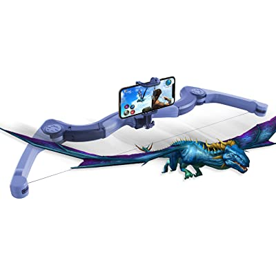 Black Fin AR Bow - Worlds AR — Augmented Reality Bow: Toys & Games