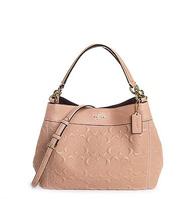 Amazon.com: Coach F28934 - Bolso de piel para mujer (tamaño ...