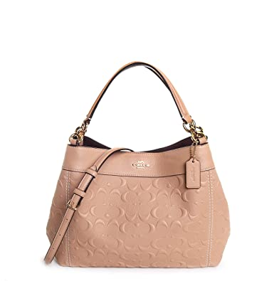 c6d15ac0a321 Coach Women's Signature Leather Small Lexy Shoulder Bag No Size (Im ...