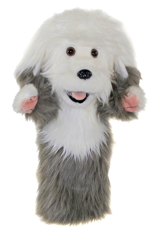 Lang/ärmlige Handpuppen Alter englischer Sch/äferhund The Puppet Company