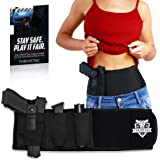 THRIVETAC Belly Band Holster for Women and Men – Concealed Carry Gun Holster Made from Breathable Neoprene – Ambidextrous Design – Fits Most Guns, Pistols, and Revolvers