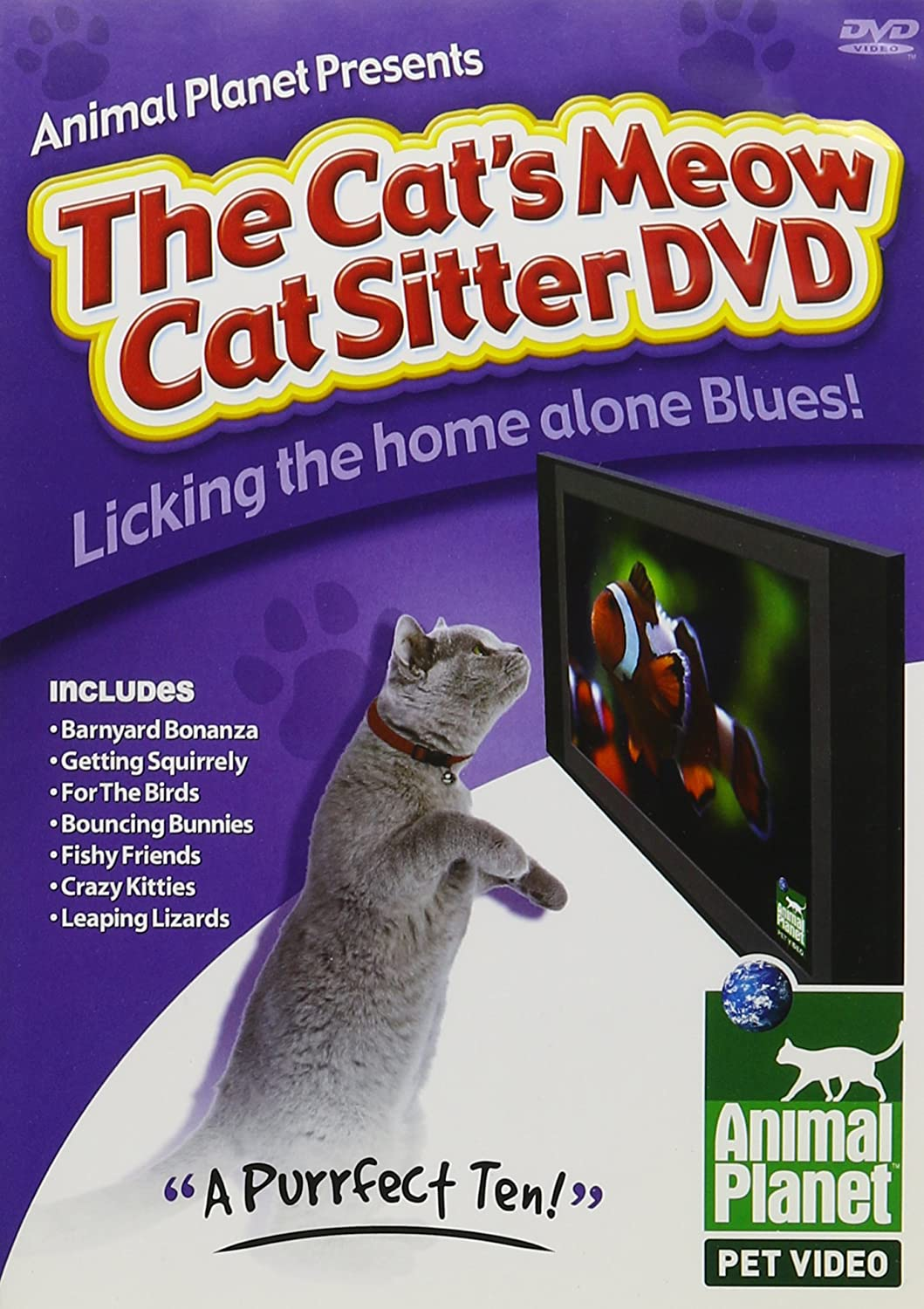 Amazon in: Buy ANIMAL PLANET PRESENTS A CAT\'S MEOW C DVD, Blu-ray
