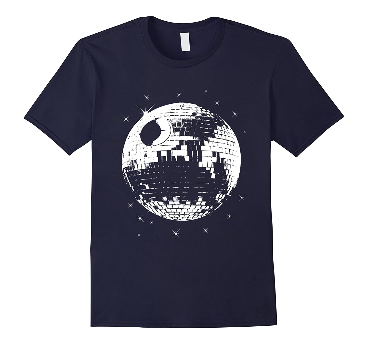 Death Star Shirt - Death Star Disco TShirt-Art