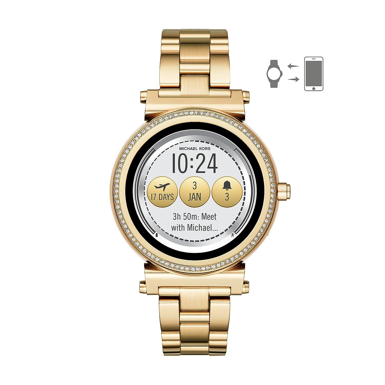 13dfdce9f378 Amazon.com  Michael Kors Access Sofie Touchscreen Smartwatch  Watches