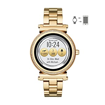 Michael Kors Access, Women s Smartwatch, Sofie Gold-Tone Stainless Steel,  MKT5021 ff73cb03e2