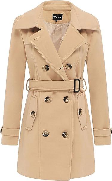 ZSHOW Cappotto Donna Nero X Large: Amazon.it: Abbigliamento