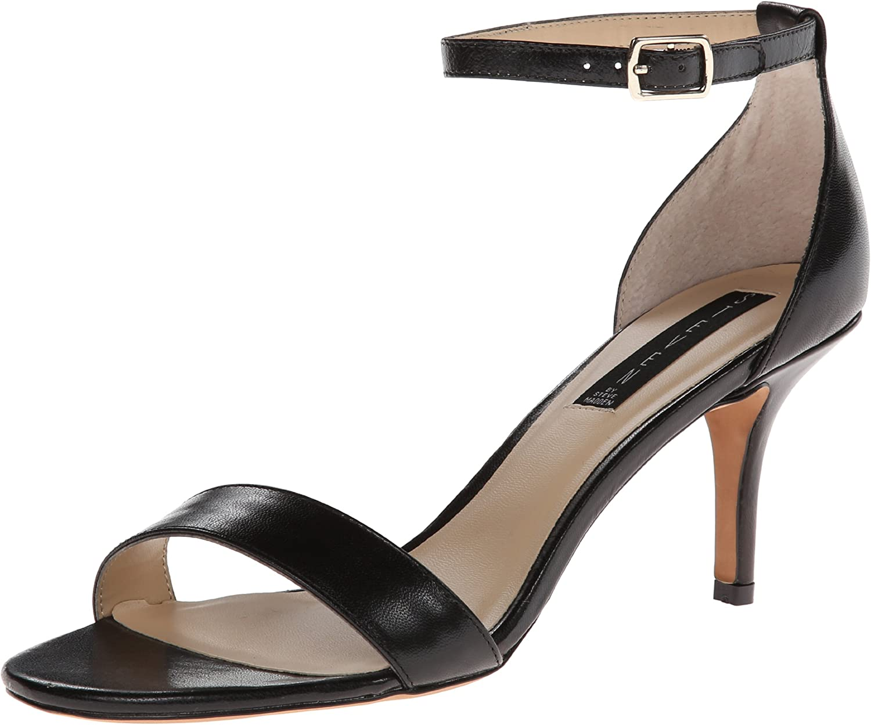 petrolero Sacrificio colonia  STEVEN by Steve Madden Women's Viienna Dress Sandal | Heeled Sandals -  Amazon.com