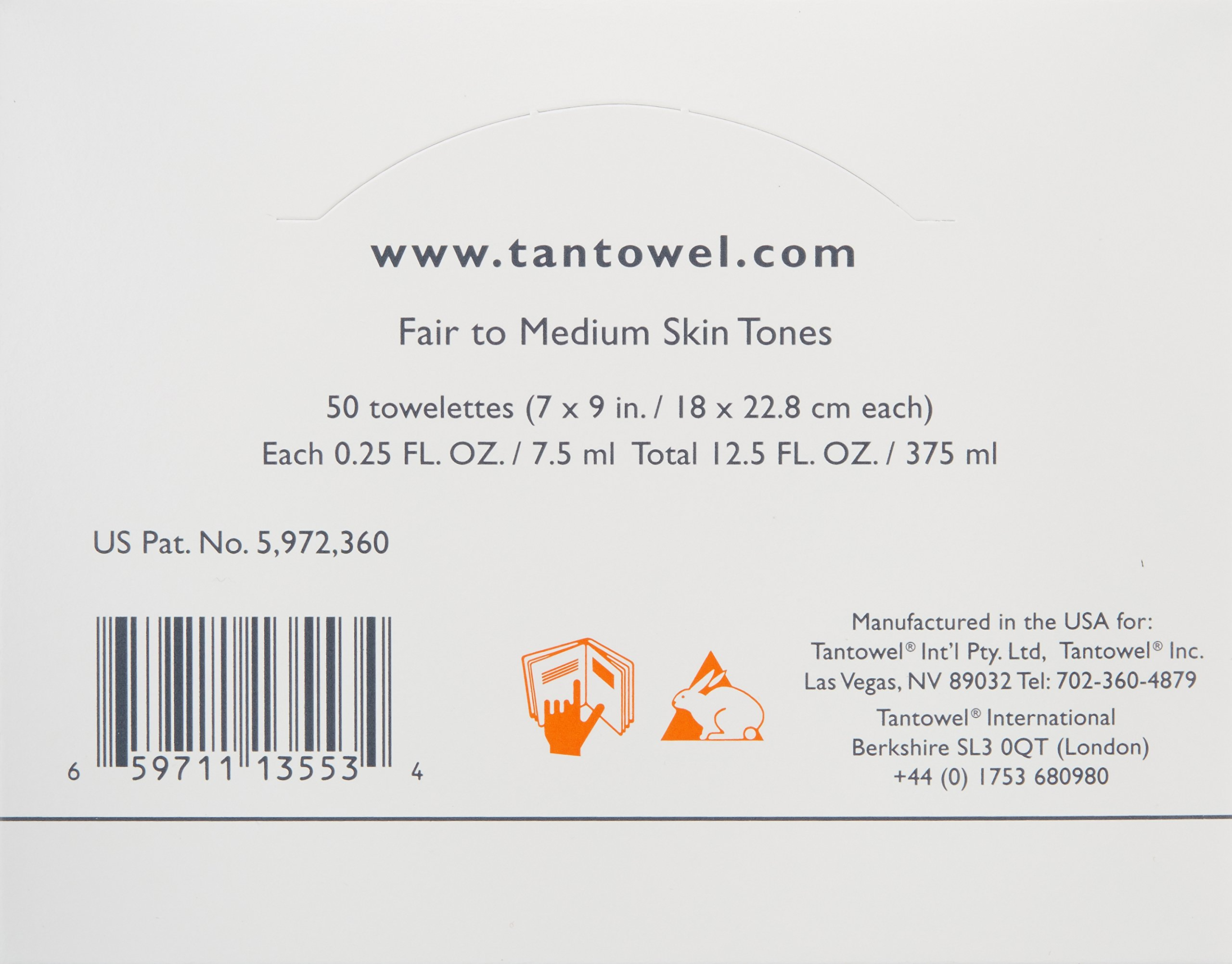 Tan Towel Self Tan Towelette Classic  50 Count by Tan Towel (Image #2)