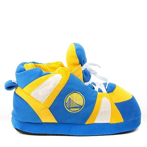 comprare a buon mercato godere del prezzo di sconto Sito ufficiale Sleeper'z - Pantofole Golden State Warriors con Licenza Ufficiale NBA  Basketball - Originale Divertente per Donna e Uomo