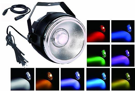 1 opinioni per TOM LED 45W RGBW COB par lavano le luci con un riflettore di alluminio lucido e