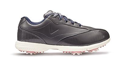 Callaway Halo Pro Golf-Schuhe Damen, Damen, Weiß/Blau, 40.5 (W)