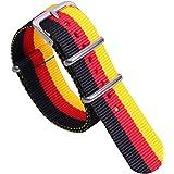 multicolore alla moda classici di nylon della NATO di orologi stile cinghie bande sostituzioni per gli uomini donne