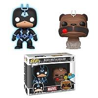 Funko San Diego Comic-Con 2018 Pop! Marvel Teleporting Lockjaw & Black Bolt Vinyl Figure Two Pack