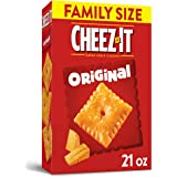 Cheez-It Original Cheese Crackers, Family Size, 21 oz Box