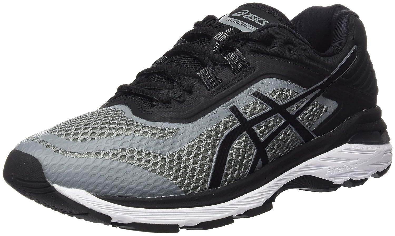 Asics Gt-2000 6, Zapatillas de Running para Hombre 44 EU|Gris (Stone Grey/Black/White 1190)