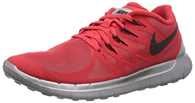 Nike Free 5.0 Action Éclair Encre Rouge