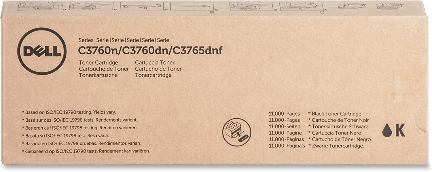 Dell W8D60 Toner Cartridge 11 000 Page Yield Black