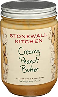 product image for Stonewall Kitchen All Natural Creamy Peanut Butter, 15.5 Ounce