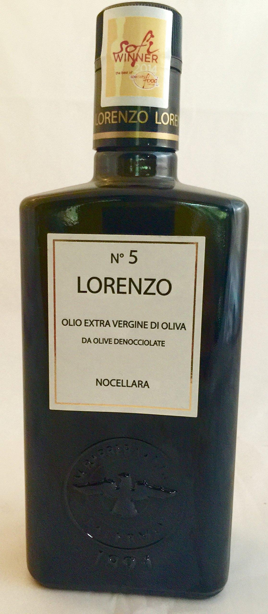 Barbera Lorenzo #5 (6 pack) Extra Virgin Olive Oil 500ml bottles from Sicily, Italy
